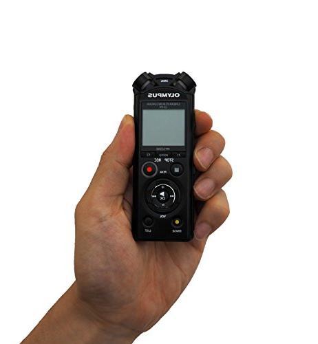 Olympus LS-P4 Recorder, Black