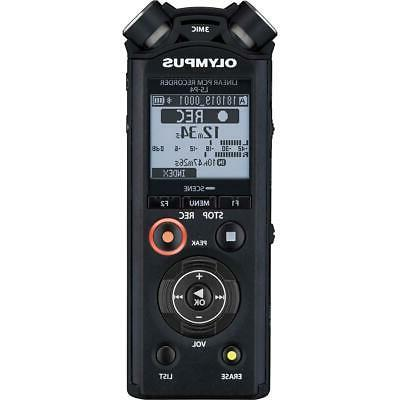 Olympus LS-P4 Linear PCM Recorder, Black