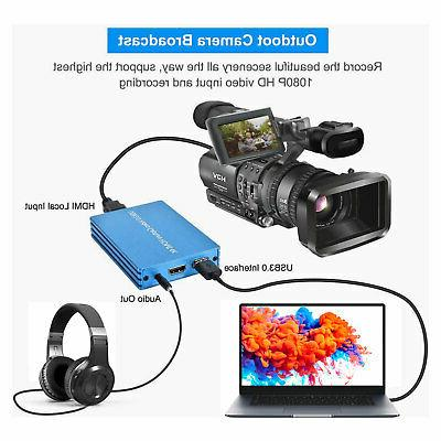 4K HD To Capture Card Video 5Gbps