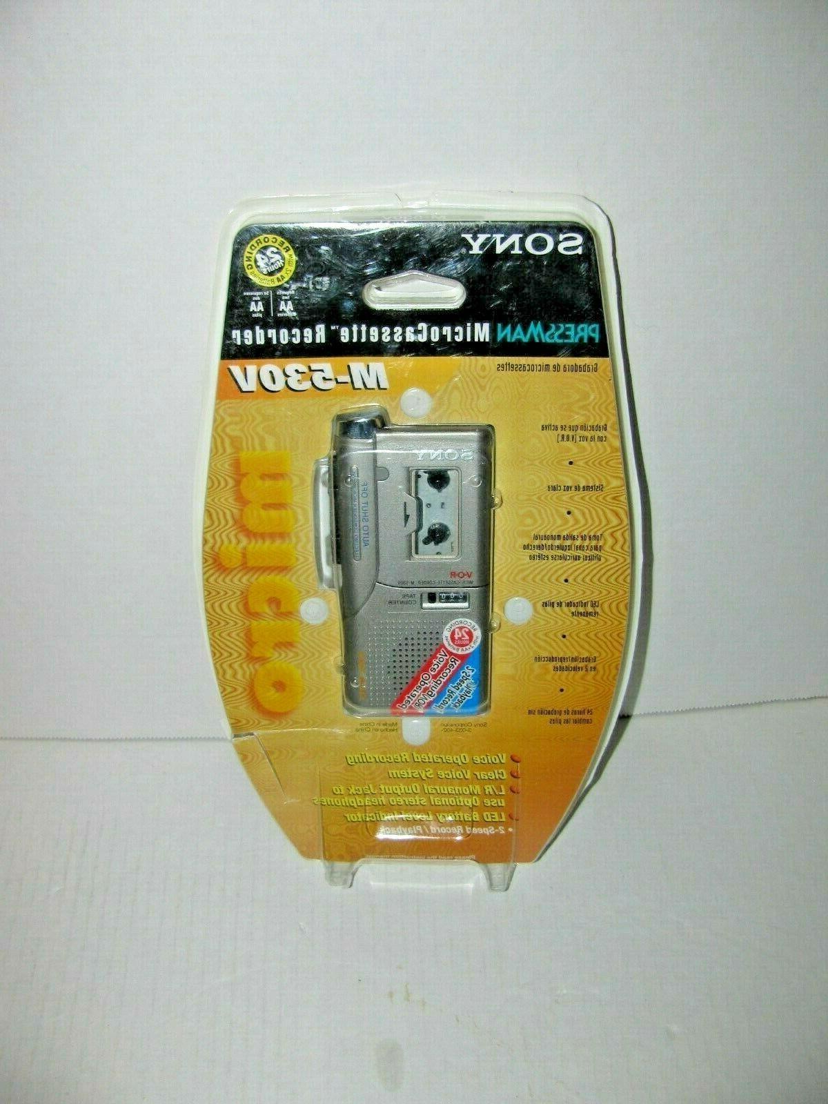 m 530v micro cassette voice recorder