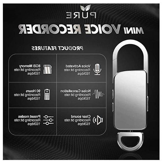 Mini Spy Audio Voice Listening 90