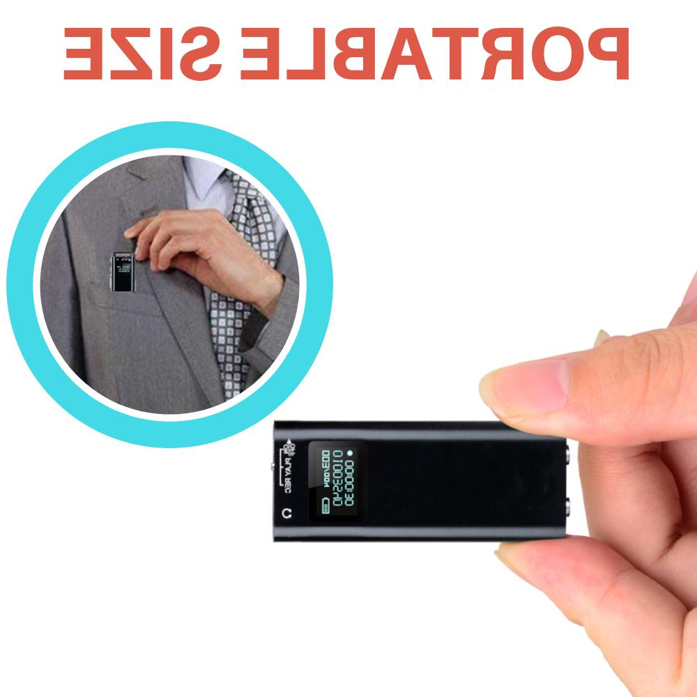 Mini Spy Voice Activated Device 200 Lecture