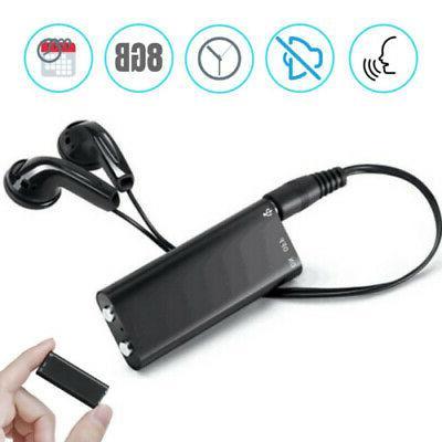 Mini Spy Audio Voice 8/16 MP3 Player