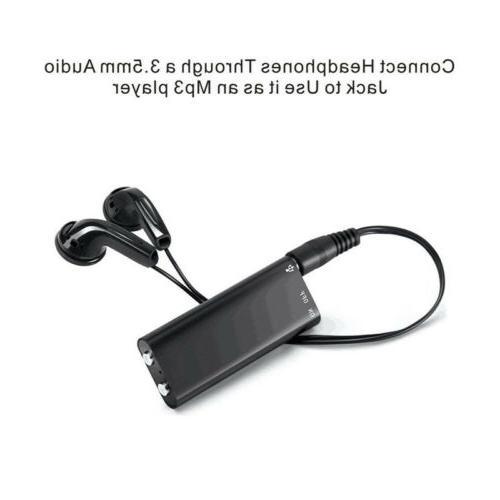 MemoQ 8GB MQ-U350 Digital Voice Recorder USB Memory Spy Hidd