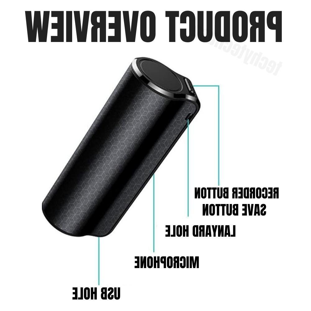 Mini Voice Activated Recorder Dictaphone