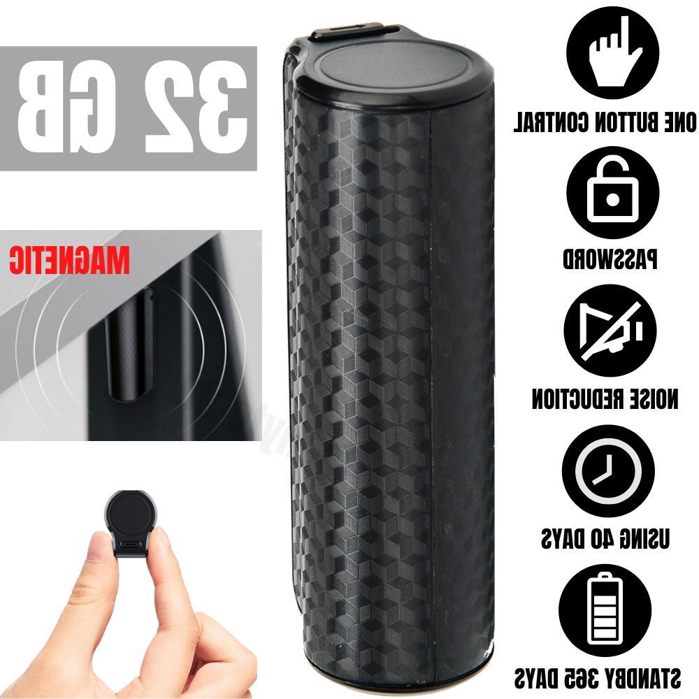 mini spy digital hidden voice activated sound