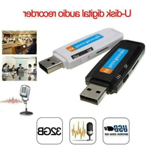 Mini Digital Pen Audio Recorder Dictaphone 32 Flash U-Disk