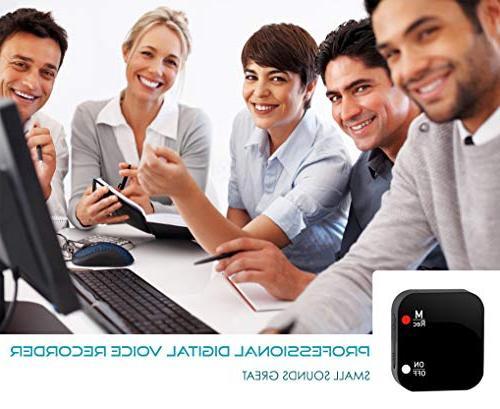 Mini Recorder Voice 286 Capacity - up Hours - Password - Upgrade
