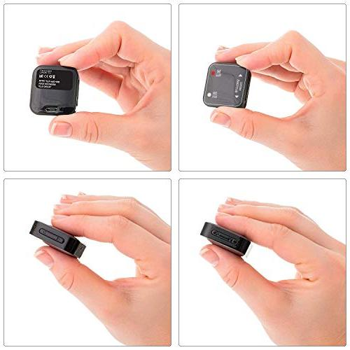 Mini Voice Recorder Voice Recording 286 Hours - up to 24 Hours Battery Upgrade