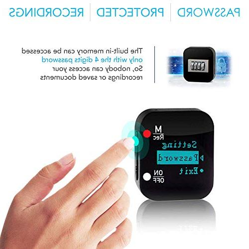 Mini Voice Voice Recording 286 Recordings - up Hours Battery Password - Upgrade