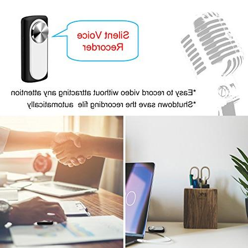 Mini Voice Recorder,MILALOKO Hours 8GB Memory Recorder, Small Recording,20 Hours Life
