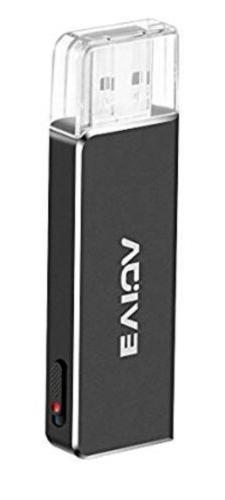 EVIDA Mini Voice Recorder for Lectures, 8GB Digital Sound Au