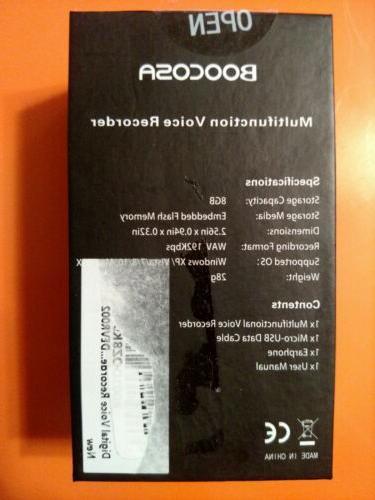 BOOCOSA Model: Vr-002 / Multifunction Ear Bud Back