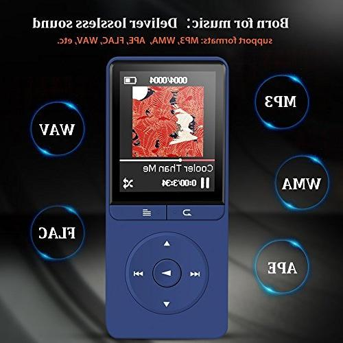 16GB Player, AGPTEK A20S Portable Music with Radio/Voice for