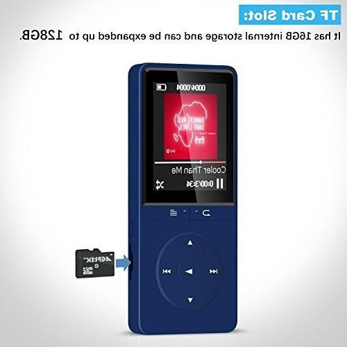 16GB A20S Portable with FM for Blue