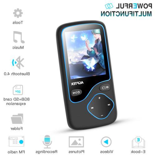 AGPTEK 8GB Portable FM Voice