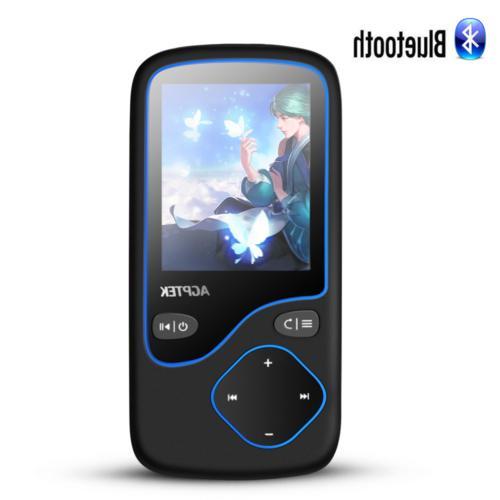 mp3 player bluetooth 8gb portable fm radio