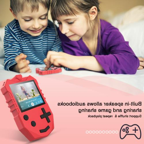 AGPTEK Kids 8GB Support FM Voice Recording Red