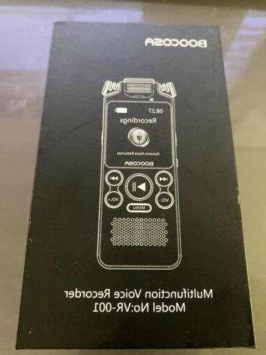 multifunction voice recorder model vr 001