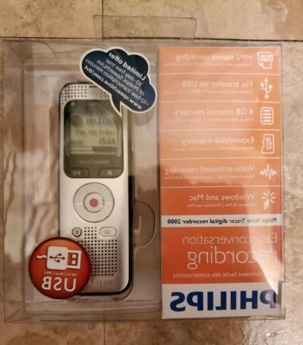 new digital voice recorder 2000