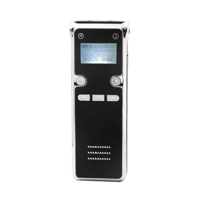 new digital voice recorder dictaphone audio sound