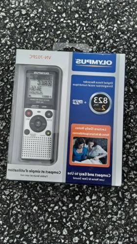 NEW Olympus Recorder Daily Notes 2 GB