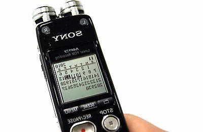 New ICD-SX712 Digital Multi Track Flash Recorder WMA,PCM,MP3,AAC-LC