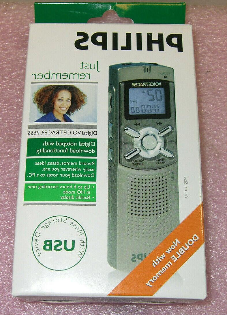 new voice tracer 7655 digital voice recorder
