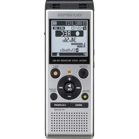 new ws 852 digital voice recorder silver