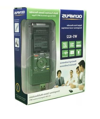 Olympus Recorders with 4 Built-In-Memory New!