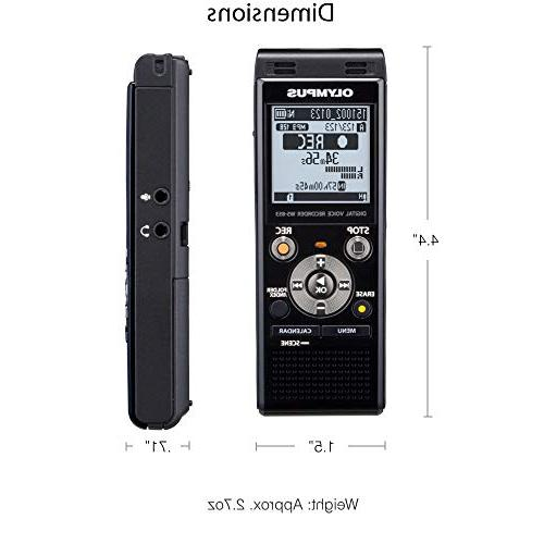 Olympus WS-853 Digital Recorder with USB + Card + Protective + + HeroFiber Cleaning Cloth