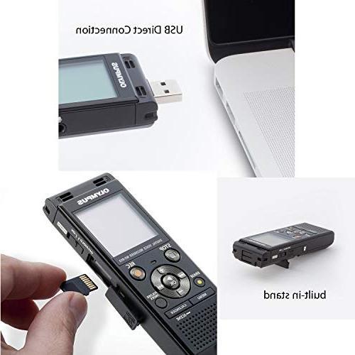 Olympus Digital Recorder + 16GB MicroSD Card + Batteries + Ultra Cleaning