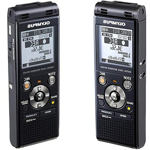 Olympus Voice Recorder with Direct + 16GB MicroSD Card + Case + + Cleaning