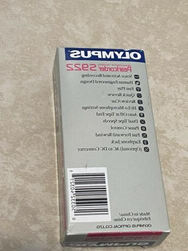 OLYMPUS S922 Tape Voice Recorder NEW IN BOX
