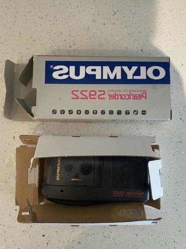 OLYMPUS Pearlcorder S922 Microcassette Tape IN
