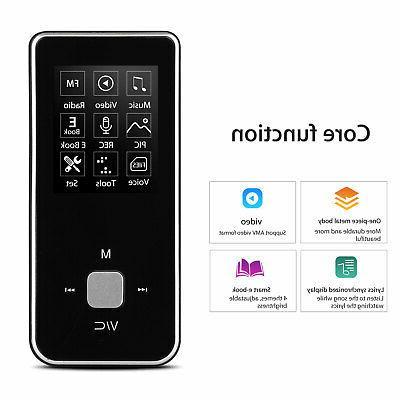 HiFi LCD MP3 MP4 Music Player Walkman Voice Recorder FM Radi