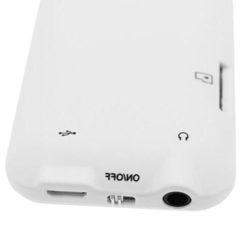 NEW MP3 Player LCD HiFi FM Radio Video Recorder