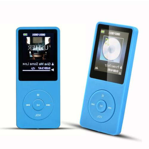 AGPTEK® Portable Player with FM Support up to 64 GB