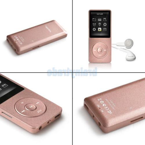 AGPTEK® Portable MP3 Player FM Support GB