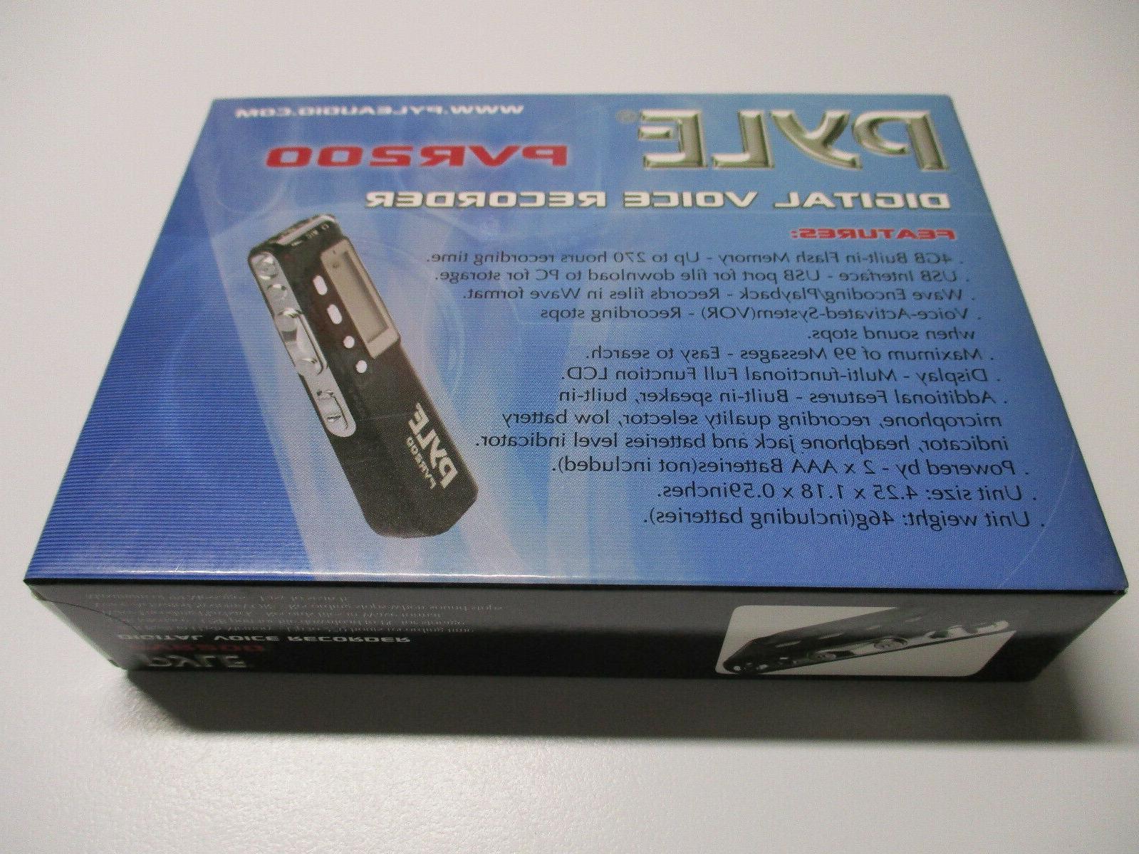 Pyle Digital LCD Voice Jack