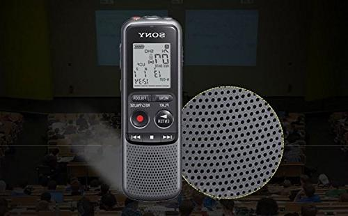Sony 4GB Series MP3 Recorder Microphone