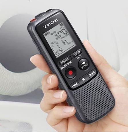 Sony MP3 Recorder With Built-In Microphone