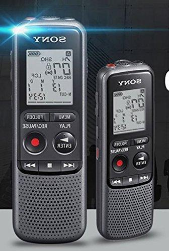 Sony MP3 IC Recorder With Stereo Microphone