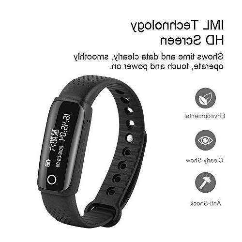 ASHATA Portable Smart Sports 8G Flash Driver U HiFi Record,Multi-Functional Voice Audio Recorder Watch for