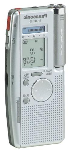 Panasonic  RR-QR120 IC Digital Voice Recorder