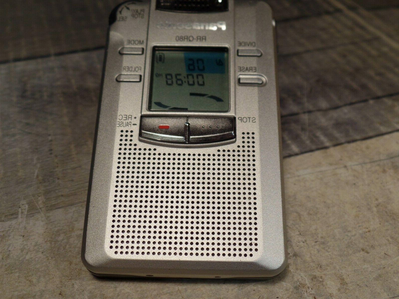 PANASONIC Handheld Voice tested Working