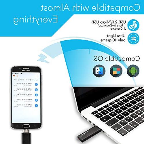Slim Voice Activated – | 26 | 8GB Hours Kbps Audio Easy to Memory Stick Sound Digital