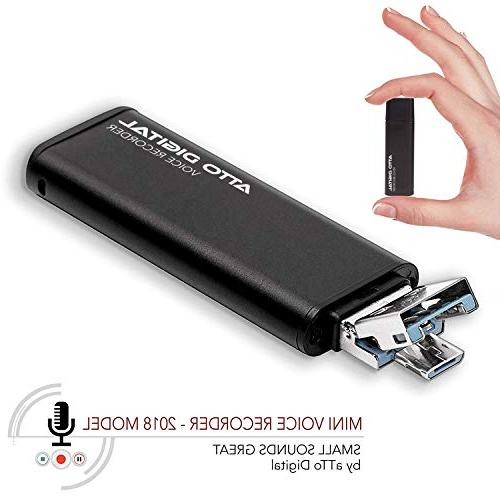 slim voice activated recorder usb