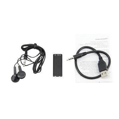 Small Covert Device Mini Hidden Spy Audio Recorder
