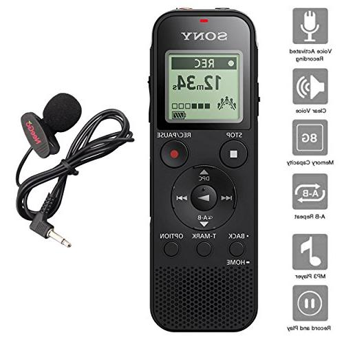 sony voice recorder icd px